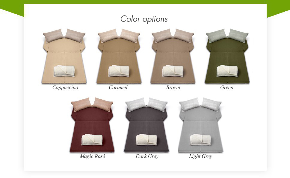Spacebed® Color options