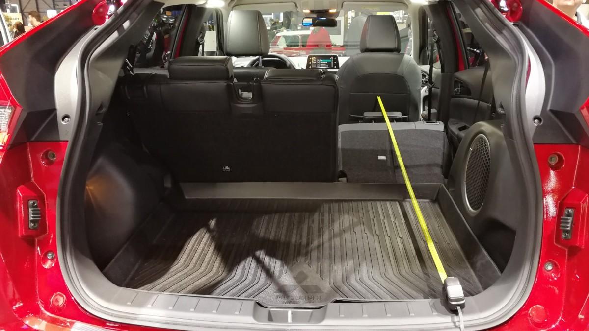 mitsubishi eclipse cross kofferraum – auto bild idee