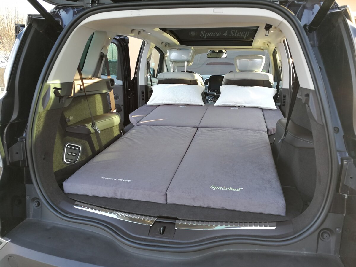Ford Grand C Max 5 2 >> Sleeping in the car Renault New ESPACE