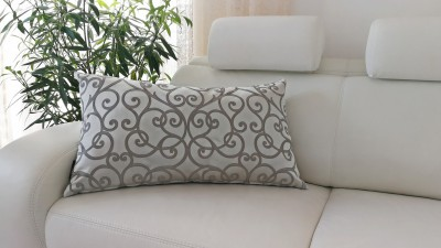 Cushion Margareta Silver