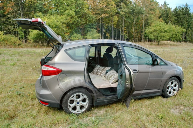 Sleeping In The Car Ford C Max