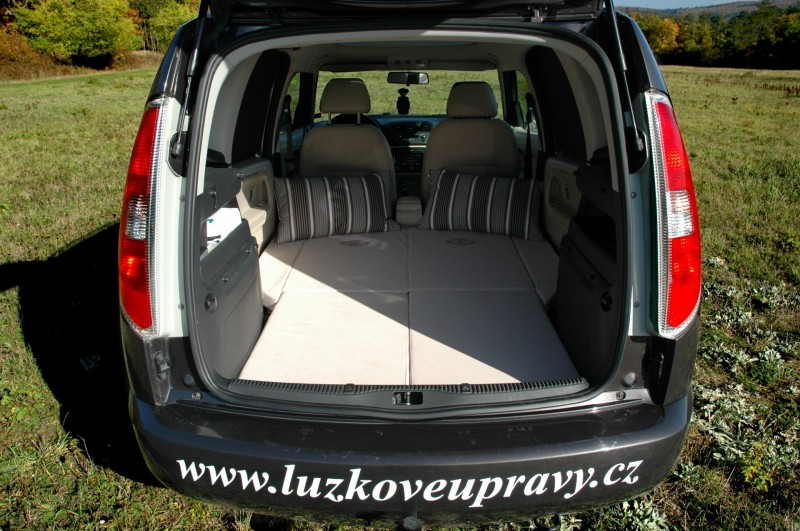 Mattress Spacebed In Skoda Roomster